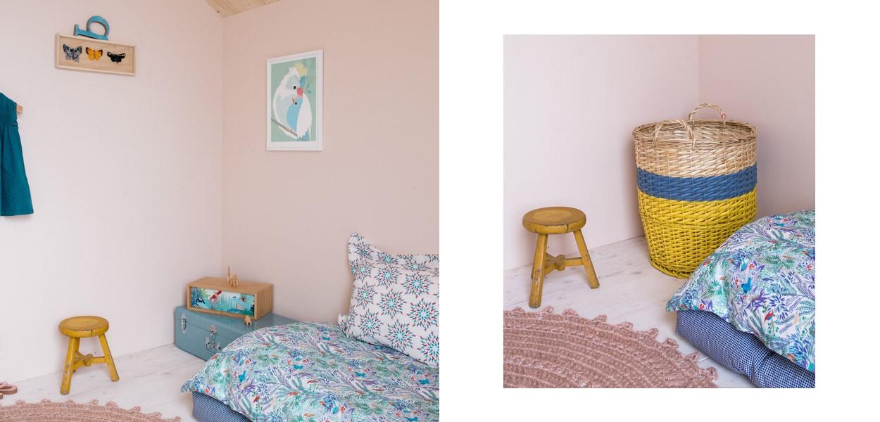 Chambre de petite fille contributeur Aurelie Lecuyer